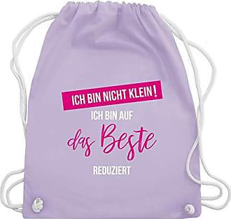 Statement Auf Reduziert Shirtracer ShirtsIch Bin Das Lila Bag Pastell Wm110 Nicht Beste Gym Unisize Klein Turnbeutelamp; kO0wnP