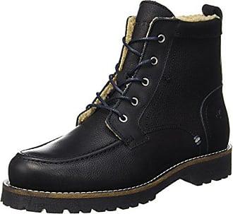 black 70920036301109 Schwarz O'polo Bootie Marc Homme Flatheel Eu Rangers Boots Lace 46 6gwxzR