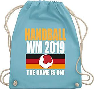 2019 amp; Bag Gym Hellblau Game Unisize Wm110 Wm Handball The Is Shirtracer Turnbeutel On qUOwREPHnx
