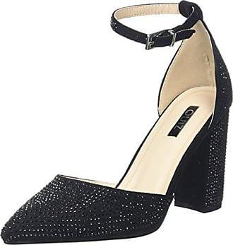 37 001 Bride Block Quiz Sandales Noir Femme Diamante Black Cheville Eu Heel wAnvBFnq