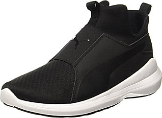 40 Puma Hautes Baskets Rebel white Black Eu Femme Mid 5 Noir pAw8Wrpq