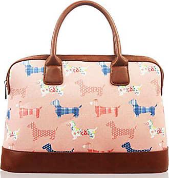 Kukubird Print Bag Bowling Canvas With Satchel Dachshund Dust Pink Matte CSq5xrOS