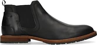 Chelsea 44 Aus 41 Schwarze Leder 47 Sacha Boots 45 42 46 1qx605x