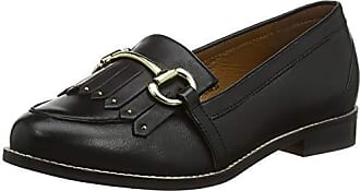Femme Fright 00078 black Leather Eu 38 Mocassins Office O1qwEfFPq