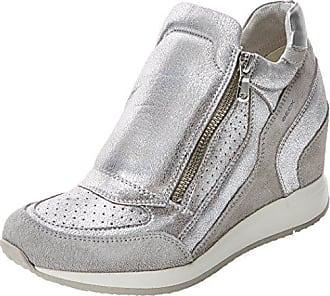 Grau Nydame Damen Geox A lt 37 Sneaker D Hohe Grey Eu q4Y77Efxwd