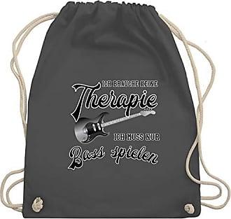 Therapie Instrumente Nur Bag Shirtracer Bass Ich Dunkelgrau Muss Keine amp; Brauche Wm110 Spielen Gym Unisize Turnbeutel xIqBSBwT