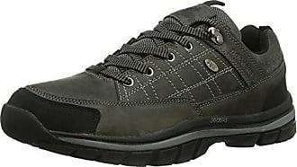 349024 Cuero Eu Cordones Uk Gris Talla Con asphalt 024 46 351340 Hombre Zapatos Dockers Color De 11 5TwHxH