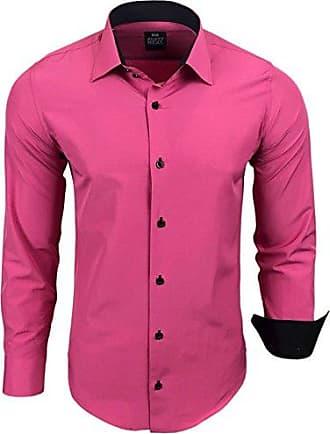Bügelleicht pink Xl Hemd Freizeit L Slim Herren Hemden M S Fit s;farbe Hochzeit Business Xxl Größe Avroni axq87fgw