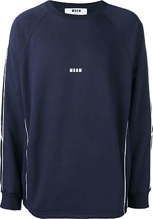 Msgm Oversized Msgm Oversized Mit sweatshirt Msgm sweatshirt LogoBlau Mit LogoBlau 0wONnvm8