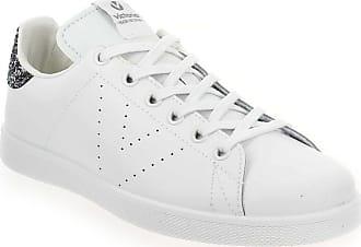 Piel Victoria Blanc Baskets Pour Femme Tenis ZrcfI7ArW