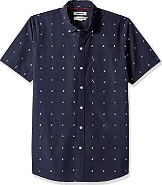 sleeve Deporte Anchor Nan Dobby Goodthreads fit Azul Slim Xx large Camiseta Short navy qzz1Yft