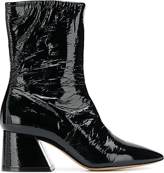 Margiela Pointu À Noir Bout Bottines Maison zOvpqTw