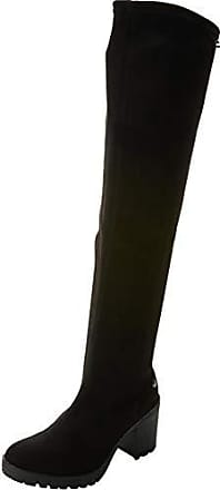 Femme Hautes Bottes Negro Noir 41 48453 negro Eu Xti waBOtFqO