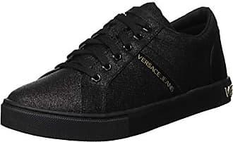 Femme Versace nero Eu Couture Gymnastique Noir Jeans De donna E899 Scarpe 39 Chaussures f0Bfw6