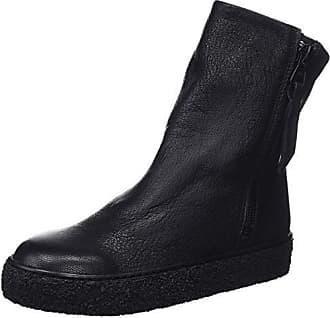 Eu black Leonor Bottines Bottes Real amp; Souples Femme Noir 001 Leather Mamatayoe 38 q70dwtq