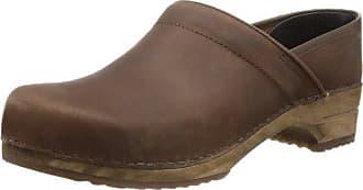 Marron Mixte 39 Sanita Chaussures Eu Adulte Oil 1201005 Classic Closed qxS0vPA