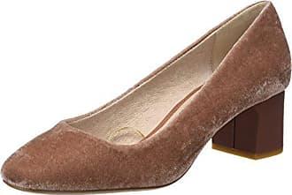donna Cortefiel g T con m rosa scarpe da 2 med Eu chiuse 38 Salon tacco Velvet Wide rosa CfUqwRC