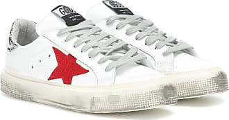 Leder Sneakers Aus Golden Goose May qSfIxUwF