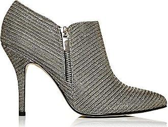 In Schuh 40 Moda Gold Damen Pelle Stiefel Kromptal Gold Elegante Absatz Größe FqCORpxd