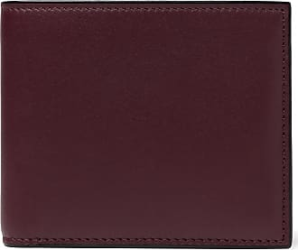 Burgundy Leather Valextra Wallet Billfold Burgundy Wallet Billfold Valextra Leather zC6qW8cc1n