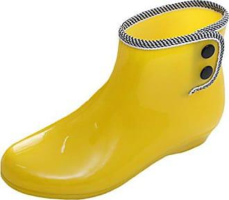 Regenstiefel Gummistiefel Stiefel Wellies Mode Regen Scothen Frauen Gummistiefeletten Damen Kurzschaft Jelly Halbstiefel Stulpe Regenstiefelette Chelsea Boot Winter Boots BxXCXq