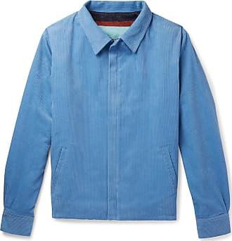 JacketLight Elder Statesman Blue Cotton corduroy The XTOiPkuZ
