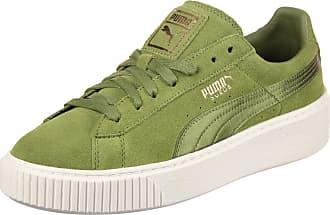 Gr Satin W 0 Eu 37 Femmes Suede Chaussures Mono Puma Platform Olive qItWCUw8c