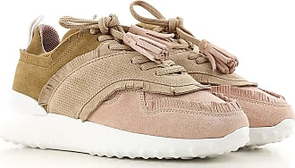 Tod's 36 For Leather Suede Women 37 2017 Sale Pink Sneakers On ffqaBr6