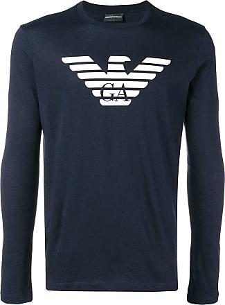 Emporio Armani Sweatshirt Emporio Armani Bleu Logo 7wHOUx4Tq