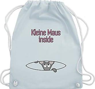 Shirtracer Gym Pastell Blau Kleine Bag Unisize amp; Wm110 Turnbeutel Schwangerschaft Inside Maus Babybauch PqPprH