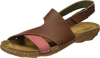 Eu 41 sandalo N5221 wood Bout El Marron Femme Naturalista Ouvert Sandales vHqxwBz8