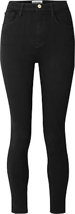 Jean Skinny Frame Denim Haute Taille AliNoir TlFuJcK135