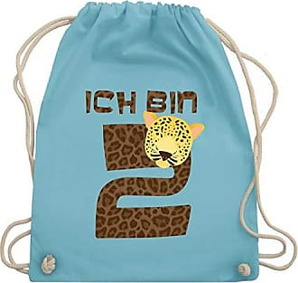 Gym Bag Unisize Turnbeutelamp; Leopard Geburtstag Shirtracer Bin Hellblau KindIch Wm110 2 wOkn0P8