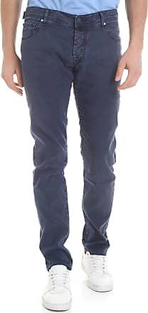 Logo clutcher Cotone In Jacob Pelle Cohën The Nera Neri Grigio Con Jeans Om80vwNn