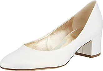 Högl Blanco 4007 39 perlweiß De Zapatos 10 5 Mujer Para Eu Tacón 0300 AwrAz