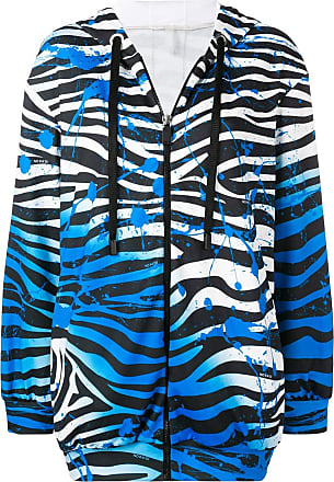 No Blauw Ka'oi Zebra Hoodie Rits Met r8HrUwqW1