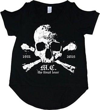 Orbit Large Rockoff Noir shirt T Trade Motley Femme Noir Crue gzzZR1q
