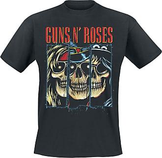shirt Schwarz Split Roses T Skulls Guns N' vRTUOO
