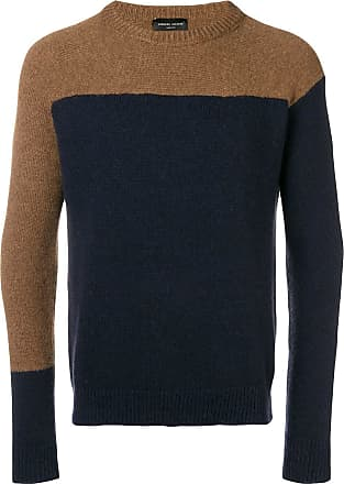 Block Sweater Collina Bleu Roberto Colour 8qw4vqP