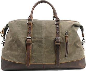 Duffel Reisetasche Olive Aus Scippis Kensington Bag Canvas qFx5ZcTHAw