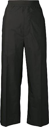 Margiela Zwart Cropped Trousers Straight Leg Maison ARwzR