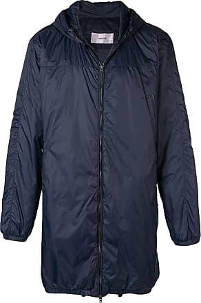 Hooded Bleu Coat Mauro Zip Grifoni zEwqq4P