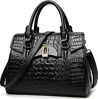 Handtasche Bfmei Mode onesize Damen Krokodil a5 Muster Bag Schulter Messenger FK13TlJc