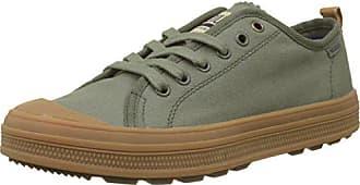 Olive Canvas Night EU Low Uomo Gum Sneaker Verde Palladium Sub L86 aXBHqn