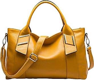 Litschi Handtasche Kapazität Die Vereinigten Mode Europa Damen onesize Große Muster Paket Staaten Tote Und yellow Gkkxue Tasche TOvwq