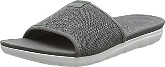Uberknit Bout 605 pewter Femme Ouvert Grey Multicolore charcoal Eu Slide Sandals Fitflop 39 AS6dAn