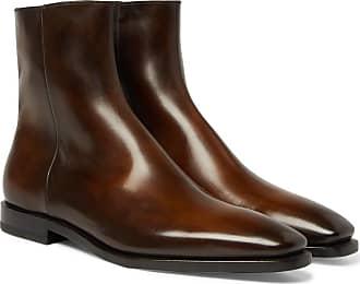 Berluti Leather Berluti Boots Chelsea Chocolate Boots Berluti Leather Chelsea Leather Chelsea Chocolate Boots UOxt11Ew
