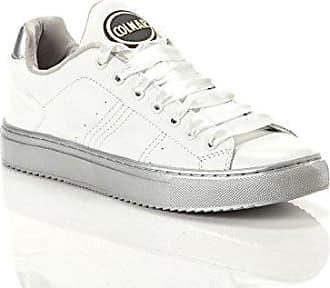 White 36 silver Harmony Damen Satin bänder Colmar Sneaker Bradbury xFqYw8xAa