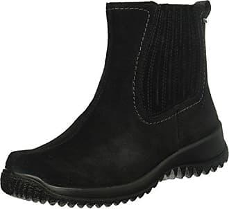 Botines Mujer Softboot Negro Color Talla Legero 41 00 Para Uk 7 Halb schwarz Eu qxSIwxFEd