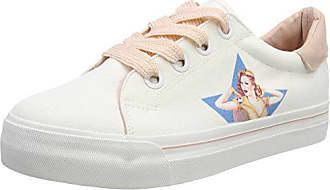 Pink wht 23652 Lady Sneakers Blanc Tamaris Basses Femme 080 Eu 38 OPFUYpwPq